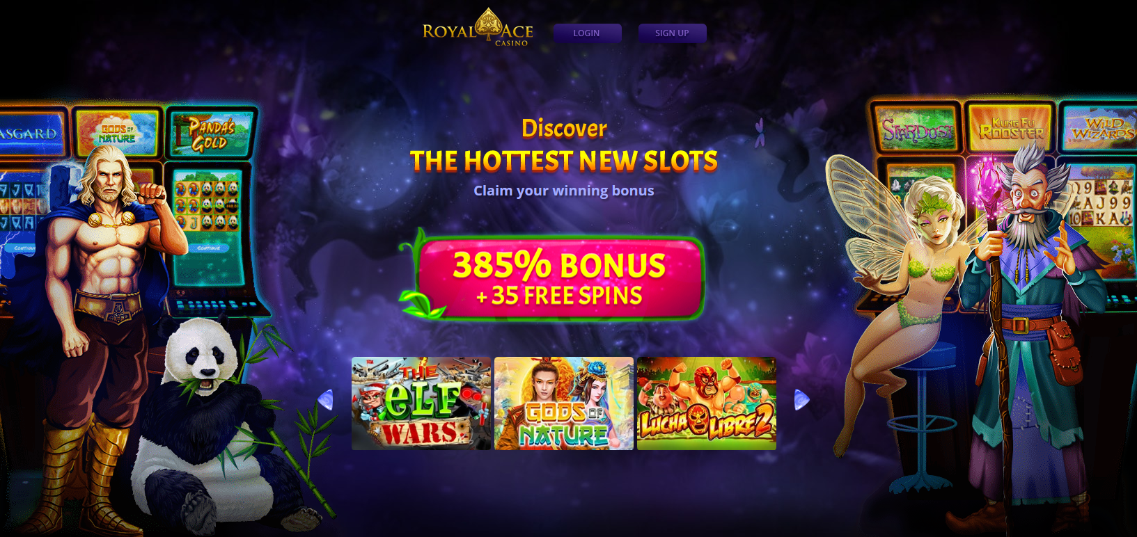 Royal Ace Casino - Big wins are waiting